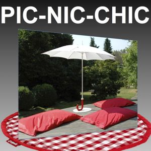 ambiance pic nic chic - location du knapsack et pic nic lounge fatboy