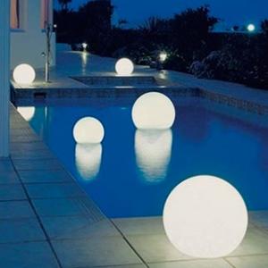 Sphère lumineuse autonome