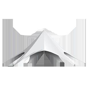Tente Étoile – 13 mètres de diamètre