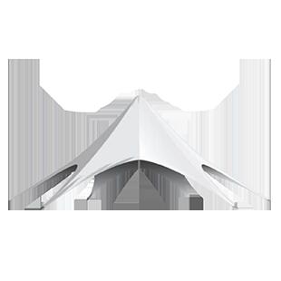 Tente Étoile – 17 mètres de diamètre