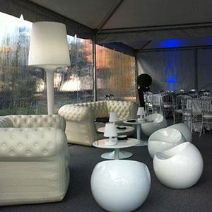 Location de mobilier de reception evenement next for Location mobilier exterieur
