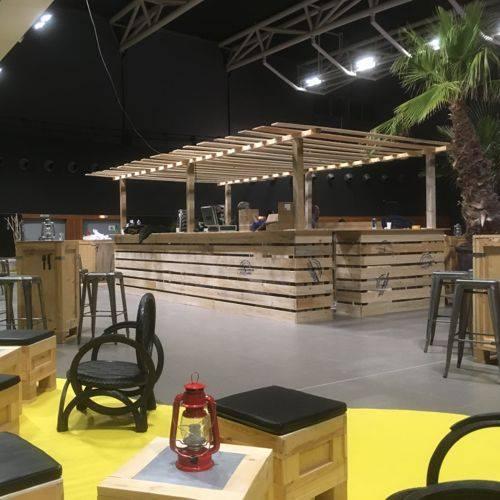 Location de mobilier pour soirée vignerons Laudun/Chusclan