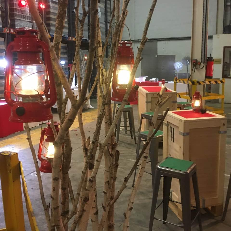 On fete Noël chez Carte Noire Lavazza Lavérune… Avec nos mobliers BOX version Noël