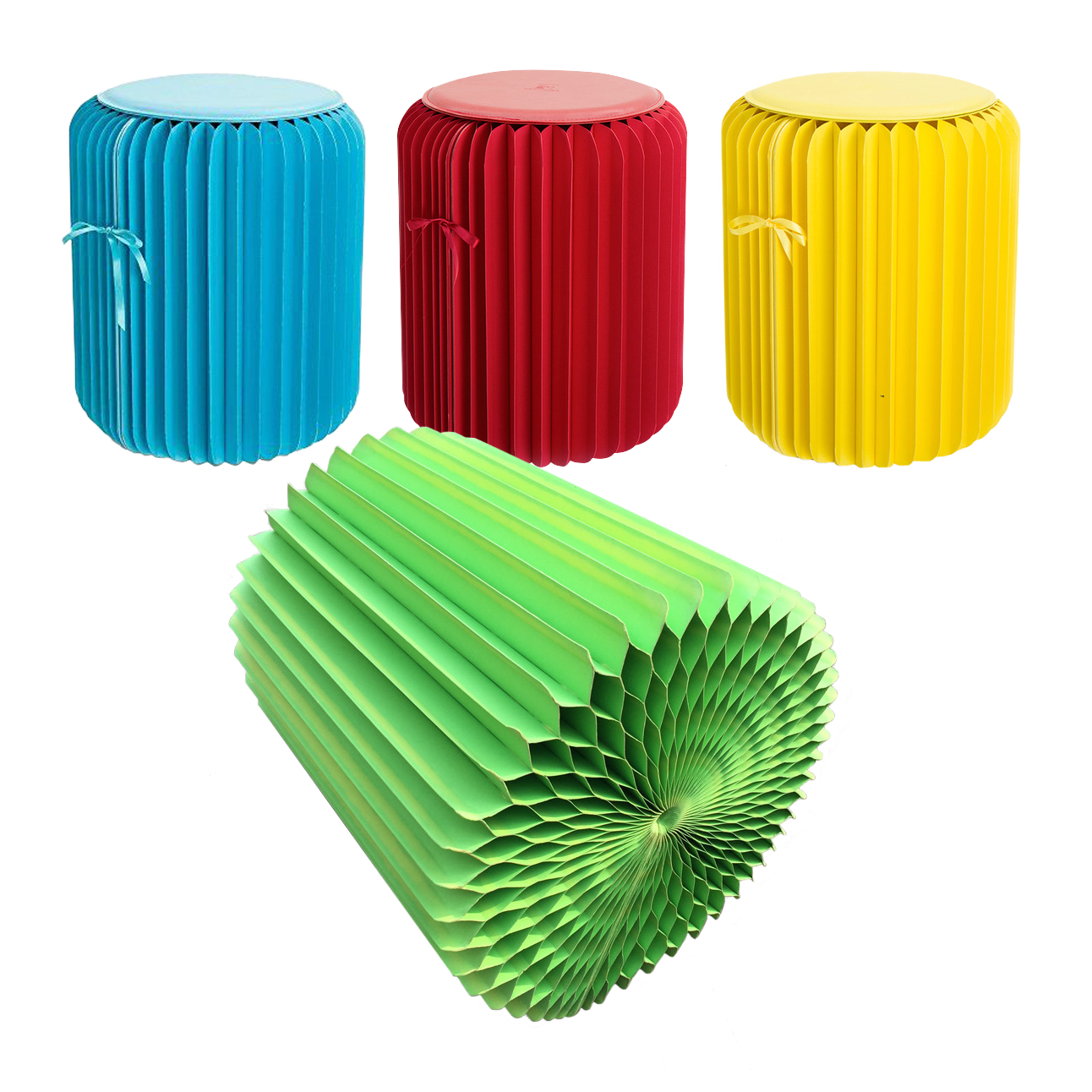Color Pouf